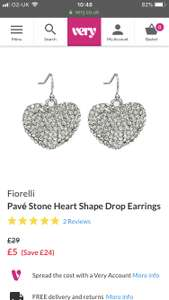 Fiorelli Earrings for a fiver at Very
