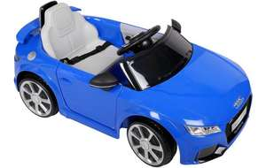 Audi TT RS 6V Electric Ride on Car. £72 at Halfords - Was £190