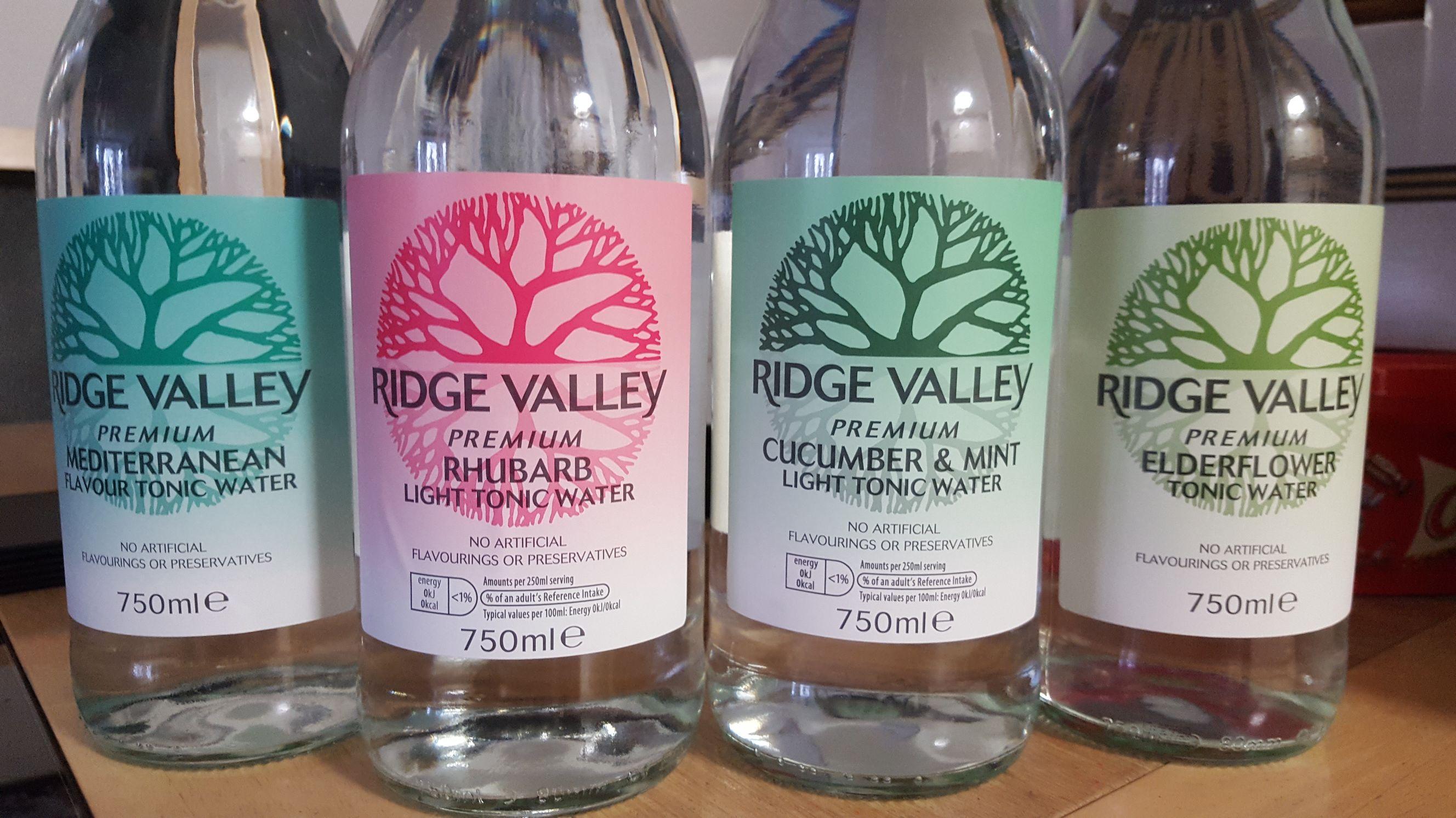 ALDI - Ridge Valley Premium Tonic 750ml  £1.19