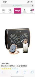 Ted Baker Ella 30ml EDT And Mirror Gift Set £18.99 @ Very
