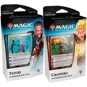 Magic the gathering planeswalker decks and booster packs £8 @ Tesco extra Broadstairs.
