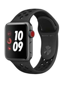 Apple Watch S3 Nike+ 42mm CELLULAR £285.97    S3 38mm CELLULAR £265 @ Nike