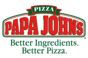 Paypal Papa Johns offer - 50% off when you spend £15 or more using PayPal TODAY