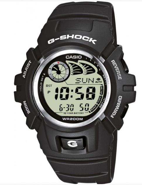 Casio Mens G-Shock Auto Illuminator Grey Resin Watch G-2900F-8VER- £39 delivered @ watches2u