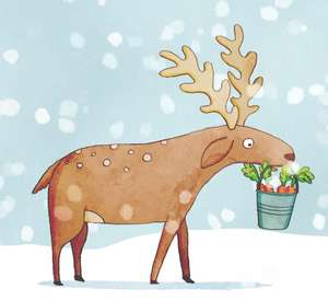 Free e book from McDonald's - reindeer ready