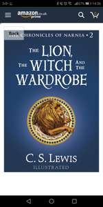 Amazon Kindle- Lion Witch and the Wardrobe 99p