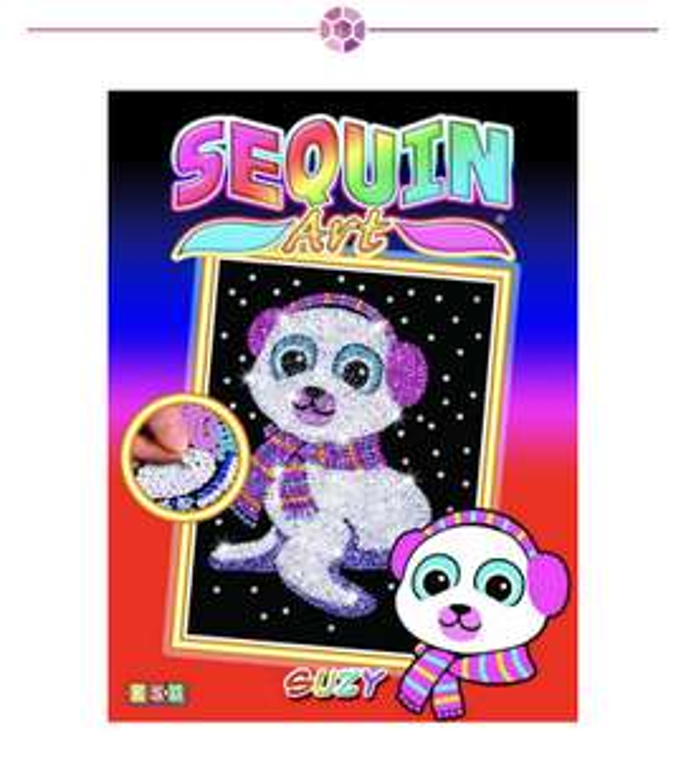 Sequin Art, Multiple Designs £3.99 instore @ Home Bargains Sunderland