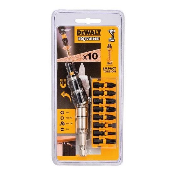 DEWALT DT70518T-QZ 10 PIECE IMPACT TORSION SET £5.96 + £4.95 delivery @ Anglia Tool Centre