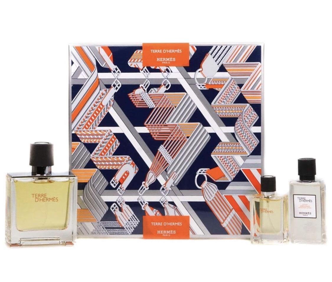 Hermes Terre D'Hermes Eau de Toilette Spray 100ml Gift Set £52.02 with code @ All Beauty