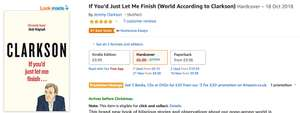 If You'd Just Let Me Finish (World According to Clarkson) Hardcover £6.00 prime / £8.99 non prime Amazon
