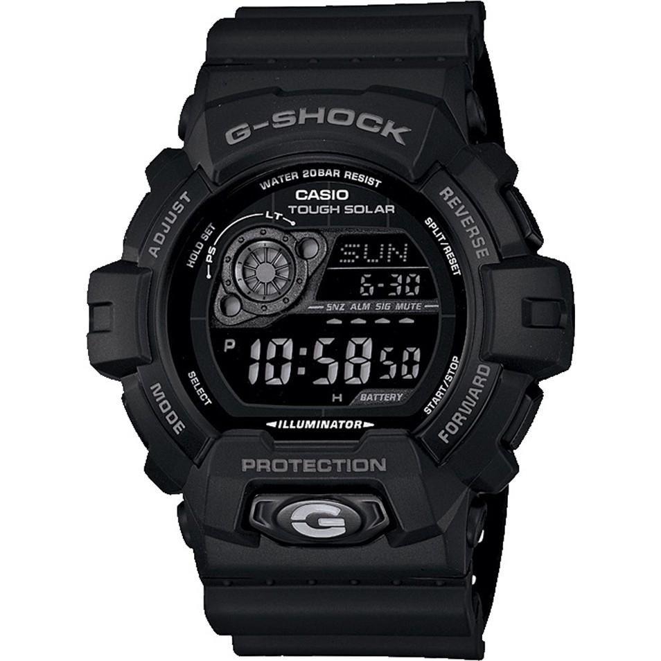 Casio Mens G-Shock World Time Black Solar Powered Watch GR-8900A-1ER £54.62 @ Watches2u