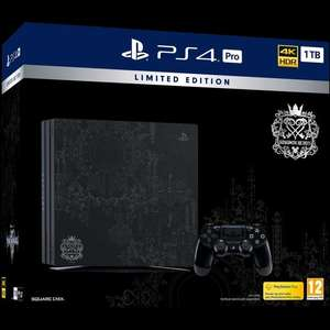 Limited Edition Kingdom Hearts PS4 Pro 1TB £379.99 - Only at GAME