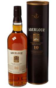 Aberlour 10 Year Old Double Cask Matured Single Malt Scotch Whisky, 70 cl @ Amazon £20.40 Delivered