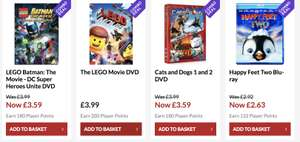 Any 10 (Blu-Ray & DVD) for £10 @ 365games