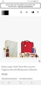 Estée Lauder Youth Dew Rich Luxuries Fragrance Set with Blockbuster Collection at John Lewis & Partners for £89.80