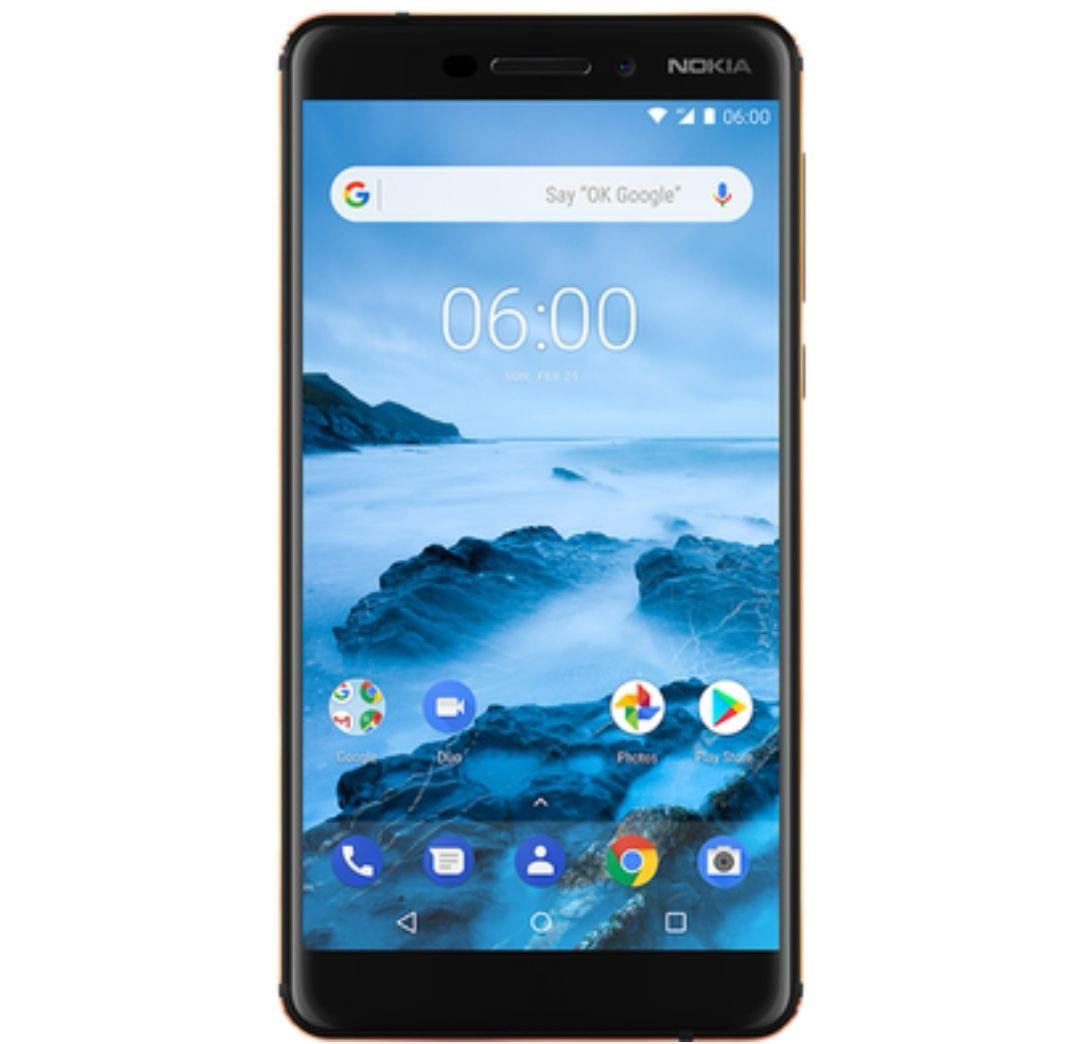 "Grade A Nokia 6.1 2018 Black 5.5"" 32GB 4G Unlocked & SIM Free £129 @ Laptops Direct"