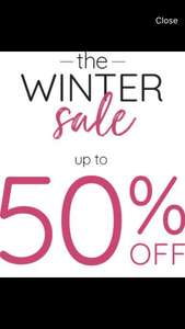 Up to 50% off winter sale plus extra 10% off sale items and free delivery @ laredoute