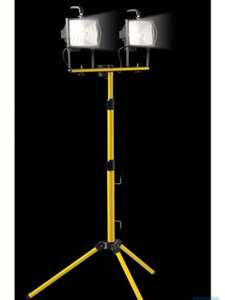 Wickes Defender 400W Twin telescopic Floodlight work light £20 click and collect