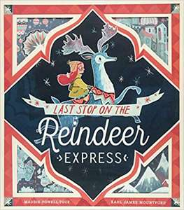 Last stop on the Reindeer express book at Amazon for £5.99 Prime / £6.98 non Prime