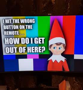 FREE - if you're stuck for elf on the shelf ideas and have younger kids (that wont work this out like mine)
