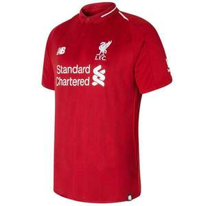 New Balance Liverpool Home Shirt 2018 2019 at Sports Direct for £34.99 (£4.99 delivery / C&C)