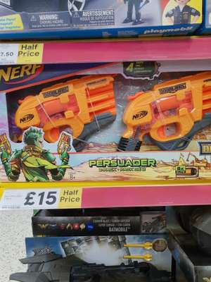 Nerf guns persuader @ Tesco Mold in store HALF PRICE!