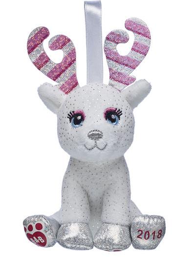 Candy Cane Glisten Ornament - £2.80 delivered w/code @ Build a bear