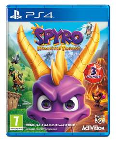 Spyro Trilogy Reignited (PS4) £22.80 on Amazon £22.99 for Xbox one