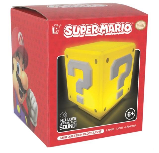 Super mario mini question box light £5.94 @ Robert Dyas with code!