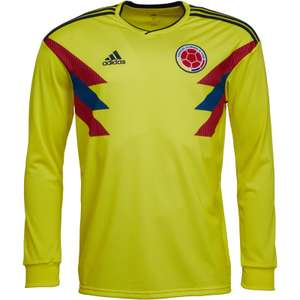 Colombia Men's World Cup 2918 Kit (Retro styling) at MandMDirect for £19.98 delivered