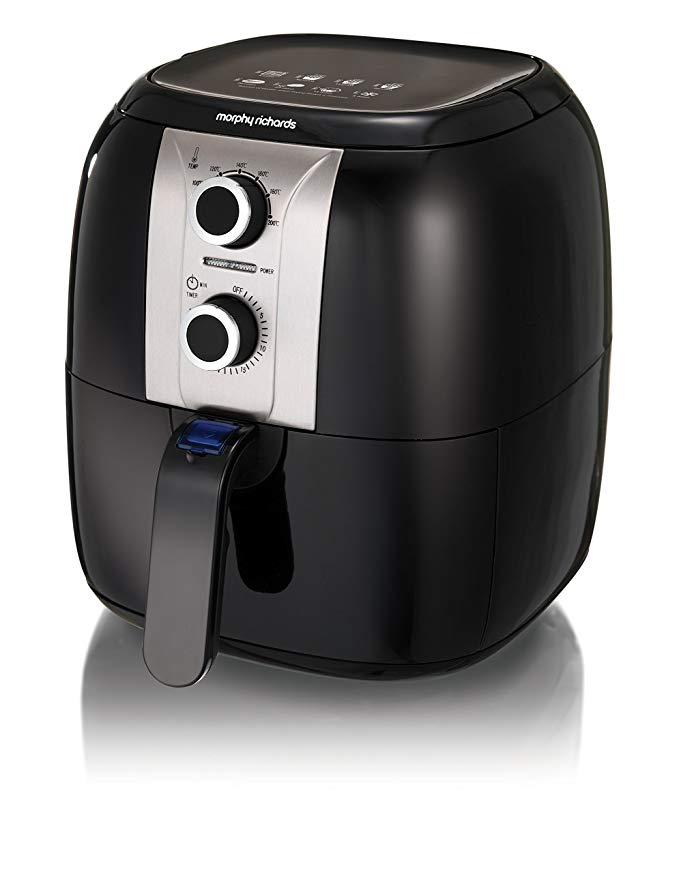 Morphy Richards 480003 Health Fryer, Plastic, 1400 W, Black £44.99 @ Amazon
