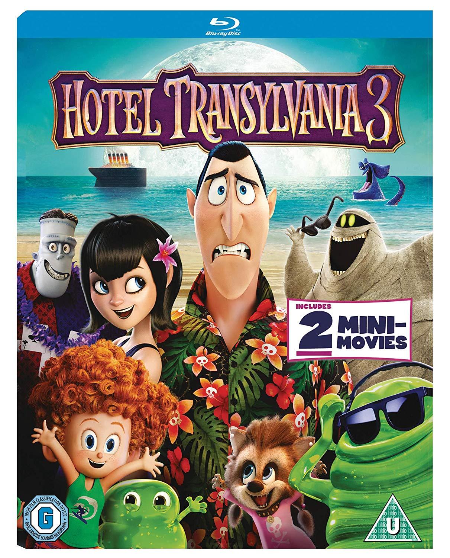Hotel Transylvania 3 Bluray For £10.49 Prime (+£4.49 Non ) delivered @ Amazon UK