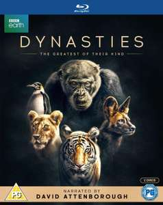 Dynasties Blu Ray £13.99 Deal of the Day @ Amazon