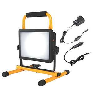 Diall LED Rechargeable Site Light 30w 18.5v for £14.99 @ Screwfix (+ Free Tripod worth £12.99 +Free C&C)