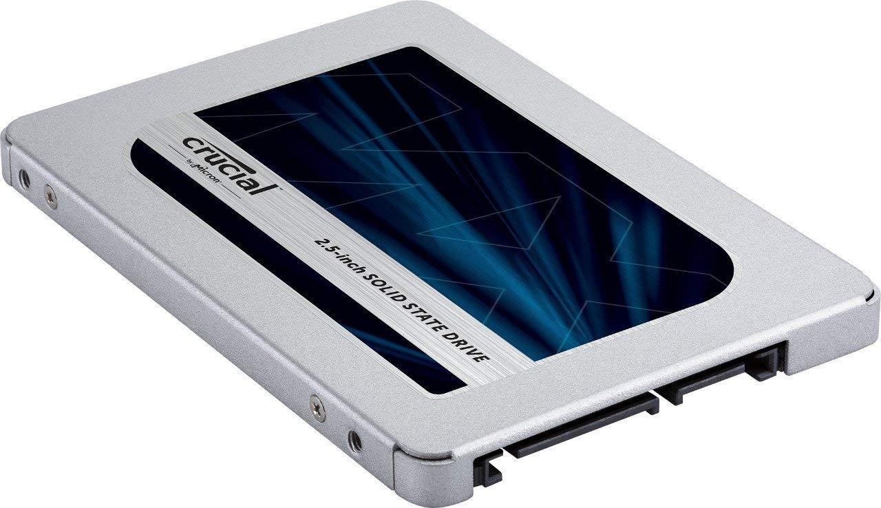 Crucial MX500 CT1000MX500SSD1(Z) 1 TB Internal SSD (3D NAND, SATA, 2.5 Inch) - AMAZON