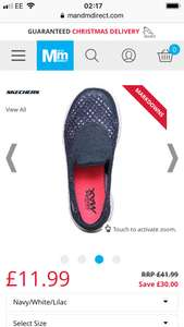 Girls trainers Sketchers down to 11.99 from 41.99