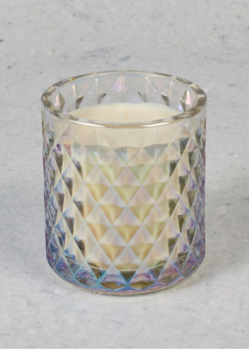 Bergamot & Lemon Iridescent Christmas Candle £3 Matalan free c&c