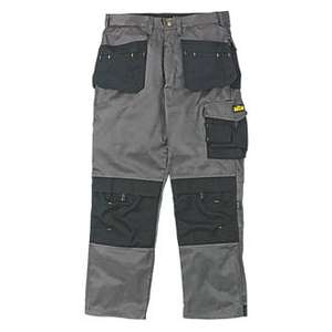 Work trousers reduced £4.99 / £9.99 / £14.99 C+C @ Screwfix