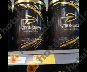 Strongbow Keg 5 Litres only £5 at Morrisons instore & online - Nationwide