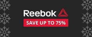 Save up to 75% off Reebok at MandM Direct