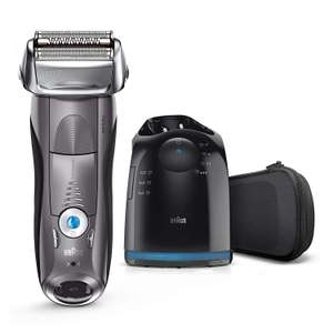 Braun Series 7 Electric Shaver for Men 7865cc with CleanandCharge Station and Travel Case, Grey - £109.99 @ Amazon