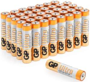 40 x GP Ultra AAA Battery's £7.91 Prime / £12.40 Non Prime @ Amazon - Sold by Batteries247 and Fulfilled by Amazon