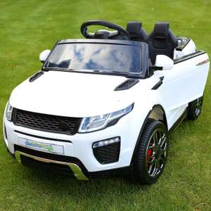 Range Rover Evoque Style 12v Child's Ride On Car £119.96 Outdoor Toys