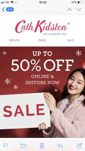 Cath Kidston upto 50% off Sale online and in store now includes Mickey Mouse products