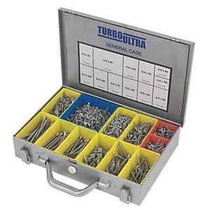 TURBOULTRA PZ DOUBLE SELF-COUNTERSUNK WOODSCREWS GENERAL TRADE CASE 1400 PCS was £33.99 now £19.99 @Screwfix