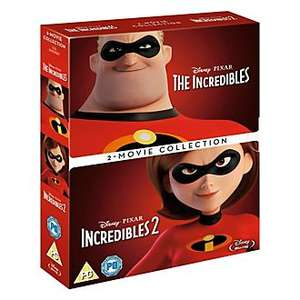 Disney Pixar The Incredibles Blu-ray Doublepack / Box Set now £12.79 delivered with code LASTCHANCE & XMAS18 @ Shopdisney.