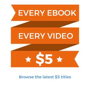 Packt Publishing (IT Books and Videos) have all 6500 ebooks and videos for $5 each  (£4.77). Cheaper than Udemy on some courses