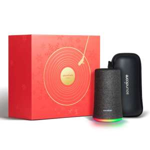 Soundcore Flare Portable Wireless Speaker by Anker - Christmas Limited Edition £52.49 Sold by AnkerDirect and Fulfilled by Amazon.