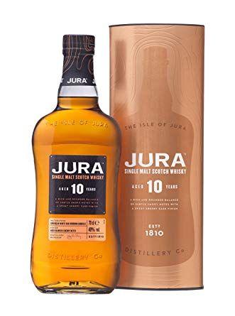 Jura 10 year old single malt whisky 70cl £23.79 @ Amazon