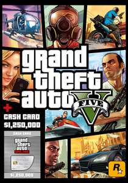 [PC] Grand Theft Auto V & Great White Shark Cash Card ($1,250,000) - £11.09 - Gamesplanet